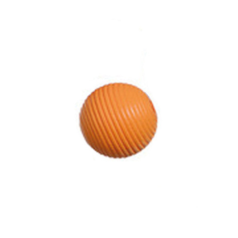 Rillenperle orange, 16 mm