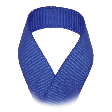Ripsband Uni - 13 mm - royalblau