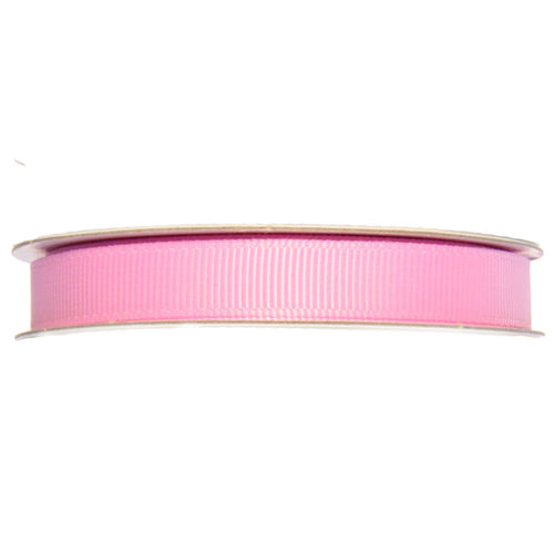 Ripsband Rolle - 10 mm - rosa