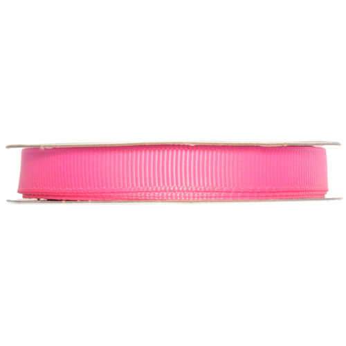 Ripsband Rolle - 10 mm - pink